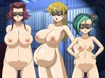 3girls akiza_izinski alexis_rhodes big_breasts blindfold blonde_hair breasts brown_eyes erect_nipples female glamour_works green_hair hair hairless_pussy hand_on_hip indoors izayoi_aki large_breasts long_hair mizuki_kotori_(yuu-gi-ou_zexal) multicolored_hair multiple_girls navel nipples nude open_mouth pregnant pussy red_hair solo tenjouin_asuka uncensored yu-gi-oh! yu-gi-oh!_5d's yu-gi-oh!_gx yu-gi-oh!_zexal yuu-gi-ou yuu-gi-ou_5d's yuu-gi-ou_gx yuu-gi-ou_zexal rating:Explicit score:16 user:ShadowKing11