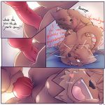 anal bdsm bondage bound brown_eyes comic cute furry gay grin heart hot incest invalid_tag knot male penetration penis sexy smile syynx teeth testicles tied_down tongue vein rating:Explicit score:8 user:Furry_Love