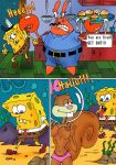 mr._krabs patrick_star sandy_cheeks spongebob_squarepants squidward_tentacles