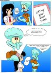 comic spongebob_squarepants squidward_tentacles vanja