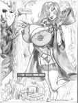 2007 breasts disney erect_nipples erection huge_breasts jessica_rabbit julius_zimmerman_(artist) lingerie nipples who_framed_roger_rabbit zimmerman