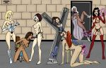amara_aquilla ball_gag emma_frost jean_grey karmagik kitty_pryde magma marvel ororo_munroe rogue scarlet_witch sex_toy shadowcat storm strap-on wanda_maximoff whip white_queen x-men x-men_evolution