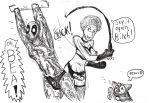 bea_arthur catsketch crossover deadpool golden_girls jissouseki marvel