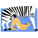 animal_sex animated disney gif nala the_lion_king zebra
