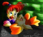 darkwing_duck disney drake gosalyn_mallard looqdrake