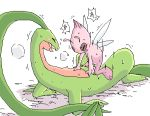 celebi grovyle pokemon pokemon_mystery_dungeon