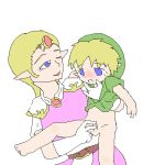 legend_of_zelda princess_zelda the_legend_of_zelda young_link