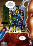 colossus comic cum cum_drip cum_in_mouth cum_inside cyclops_(character) discord erection facial fellatio futanari internal_cumshot intersex marvel mystique oral ororo_munroe penis psylocke rogue scott_summers storm x-men