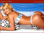 1024x768 ass celeb jessica_cirio sexy_ass soccer teeth wallpaper
