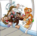 aiai amigo crossover ham kazario89 samba_de_amigo sonic_team space_chimps super_monkey_ball