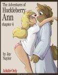comic furry horse jay_naylor jay_naylor_(artist) the_adventures_of_huckleberry_ann