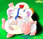 bijou blush curby fellatio feral hamster hamtaro hamtaro_(series) oral oral_sex ribbon ribbons sex testicles