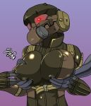 artist_request breast_grab breasts erect_nipples female frog frogs_(mgs) gear grabbing groping haven haven_trooper horny huge_breasts joy_(artist) metal metal_gear metal_gear_(series) metal_gear_solid metal_gear_solid_4 nipples snake solid text translation_request trooper