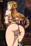 ass bondage horny legend_of_zelda princess_zelda pussy slave palcomix tagme zelda