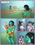 comic futa human orc shia_(artist) world_of_warcraft