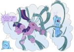 asleep dream equine female friendship_is_magic my_little_pony tentacles trixie trixie_(mlp) twilight_sparkle unicorn