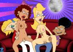 arnold_shortman bigtyme black_hair blonde_hair blonde_pubes bow breasts connie dark_skin earring erect_nipples erection gerald_johanssen hey_arnold hey_arnold! long_hair maria nude penis pussy_hair short_hair