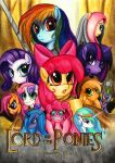 alicorn apple_bloom applejack crossover dragon equine female friendship_is_magic hasbro horse lavosvsbahamut lord_of_the_rings male my_little_pony parasprite parody pegacorn pegasus pony princess_celestia princess_luna rainbow_dash rarity_(mlp) scootaloo spike_(mlp) sweetie_belle twilight_sparkle unicorn wings