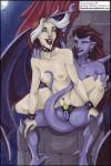 angela crossover disney gargoyles marvel rogue strap-on vp vp_(artist) x-men x-men_evolution