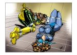 bondage cleave_gag kitty_pryde marvel nomad_(artist) rogue shadowcat superhero superheroine tape x-men