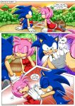 amy_rose bbmbbf comic love mobius_unleashed palcomix picnic sega sonic sonic_team sonic_the_hedgehog sonic_the_werehog sunset text the_werehog