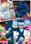 amy_rose bbmbbf comic mobius_unleashed palcomix rape_face scared sega sonic sonic_team sonic_the_hedgehog sonic_the_werehog text the_werehog transformation