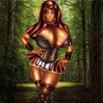 big_breasts breasts devilmaycrydant devilmaycrydant_(artist) resident_evil resident_evil_5 sheva_alomar