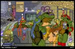 akabur akabur_(artist) april_o'neil april_o'neil donatello group_sex leonardo michelangelo raphael splinter teenage_mutant_hero_turtles teenage_mutant_ninja_turtles