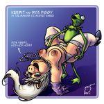 armpits kermit_the_frog miss_piggy muppets raul raul_(artist) sesame_street
