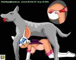 animated bestiality dog gabriel_logan gif rouge_the_bat sega sonic_team surfing_charizard