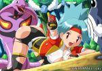 arbok hentaimate pokemon pokemon_ranger poliwhirl swablu