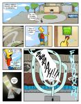 bart_simpson big_breasts boob_squeeze breasts comic fan_comic frink group_sex hexamous huge_breasts lactation marge_simpson nsfw porn simpsincest text the_simpsons yellow_skin