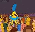 animated ass ass_shake breast_shake breasts edna_krabappel gif hair homer_simpson homerjysimpson marge_simpson moe's_tavern sexy_ass strip stripper the_simpsons yellow_skin