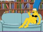 gif homerjysimpson marge_simpson strip tagme the_simpsons yellow_skin