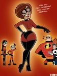 boots cosplay crossover danny_fenton danny_phantom dash_parr dlt elastigirl funny gloves halloween jack_fenton jasmine_fenton jazz_fenton looking_back looking_down madeline_fenton milf mr._incredible sexy syndrome the_incredibles violet_parr vlad_masters