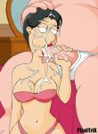 barbara_pewterschmidt breasts cum family_guy fellatio milf navel oral pixaltrix