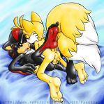 "anal fakerface_(artist) furry gay male miles_""tails""_prower shadow_the_hedgehog shails"
