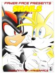"anal doujin fakerface_(artist) foreskin fox hedgehog miles_""tails""_prower oral shadow_the_hedgehog shails uncut"