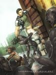 bara chris_redfield genderswap human male male_only multiple_boys muscle partially_clothed penis resident_evil resident_evil_5 rule_63 sheva_alomar silencio