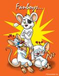 animaniacs brain brainsister brainsister_(artist) danger_mouse dangermouse furry mice mouse pinky pinky_and_the_brain