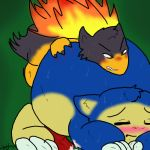 green_background pokemon snorlax tagme typhlosion