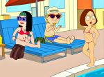 american_dad bra breasts crossover family_guy hayley_smith meg_griffin panties