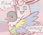 9_6 chatot pokemon pokemon_mystery_dungeon wigglytuff