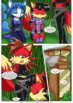 canine comic female fiona_fox fox krystal li_moon mind_control mobius_unleashed nintendo palcomix sonic star_fox text video_games