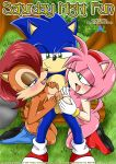 amy_rose ass blush breasts comic cover double_paizuri furry group_sex mobius_unleashed paizuri palcomix sally_acorn saturday_night_fun sex sonic sonic_the_hedgehog text threesome
