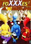 "bbmbbf canine digimon fiona fiona_fox fox krystal miles_""tails""_prower miles_prower mobius_unleashed multiple_tails nintendo renamon sega sonic star_fox tail video_games"