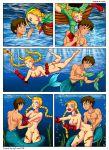 cammy cammy_white merman nude sex street_fighter underwater