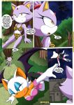 amy_rose blaze_the_cat comic mobius_unleashed palcomix rouge_the_bat sally_acorn sonic sonic_team text