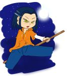 black_hair bluelimelight jackie_chan_adventures jade_chan open_mouth yellow_eyes