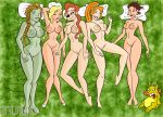 a_goofy_movie areolae breasts crossover crown dave_the_barbarian disney dreamworks faffy goof_troop gummi_bears marina nipples ogre pillow princess_calla princess_fiona roxanne shrek sinbad sinbad:_legend_of_the_seven_seas thumbelina tongue tulio_(artist)